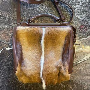 3.1 phillip lim fur trimmed ryder bag